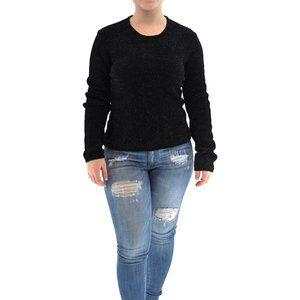 GIORGIO ARMANI Shiny Pullover Knit Sweater #AD3